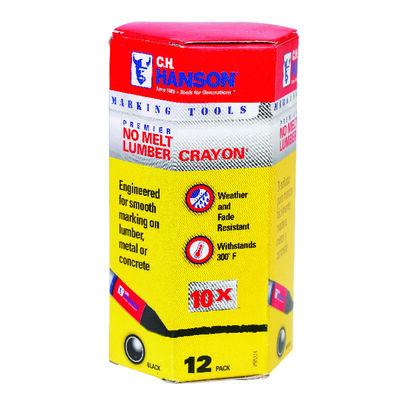 C.H. Hanson Black Lumber Crayon