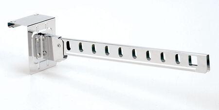 Whitmor 16-1/2 in. L x 2-7/8 in. H x 3-1/2 in. W Hanger Holder Silver