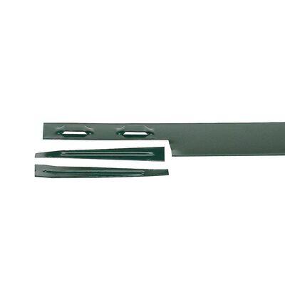 Edging Steel 8' 14 gauge w/stake Brown