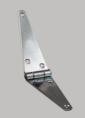 Ace Steel Heavy Duty Strap Hinge 4 in. L Zinc 1 pk