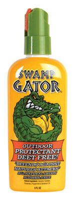 Swamp Gator Natural Geraniol Oil Insect Repellent 6 oz.