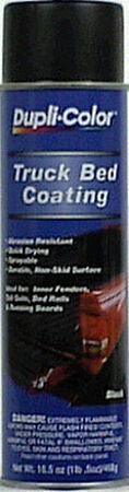 Dupli-Color Truck Bed Coating 16 oz. Black Spray Can