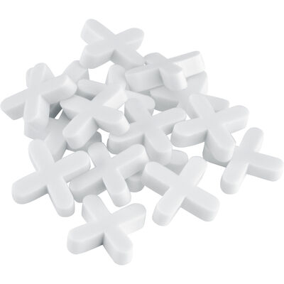QEP 1/8 in. L Plastic Tile Spacer 1000 pk