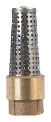 Campbell 1 in. 1 in. Dia. Brass Foot Valve