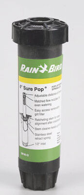 Rain Bird Sure Pop 4 in. H Quarter-Circle Sprinkler Spray Head 15 ft.