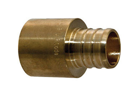 SharkBite 1/2 in. PEX x 1/2 in. Dia. Sweat-M Bronze Adapter
