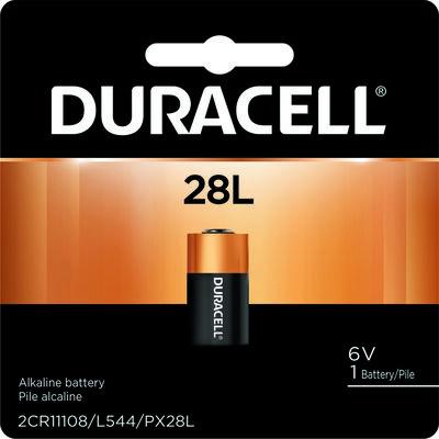 Duracell Lithium 28L 6 volts Camera Battery PX28LBPK