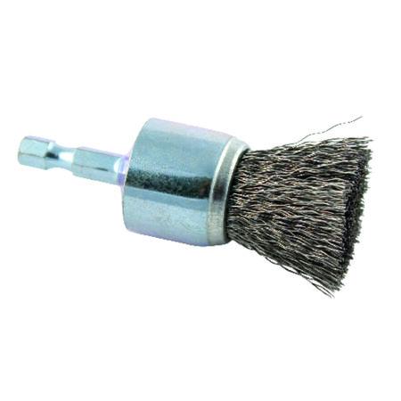 Forney 1 in. Dia. Coarse Crimped Wire Wheel Brush 20000 rpm