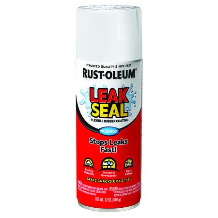 Rust-Oleum White Leakseal Flexible Rubber Sealant 12 oz.
