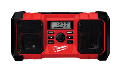 Milwaukee M18 Wireless Jobsite Radio Bluetooth Red