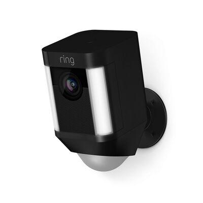 Ring Black Wi-Fi Security Camera 5 in. H x 2.75 in. W x 3 in. L