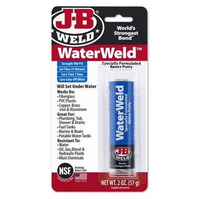 J-B Weld Water Weld Solid Automotive Epoxy 2 oz.