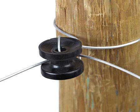 Dare Products  Electric-Powered  Corner Insulator  Black