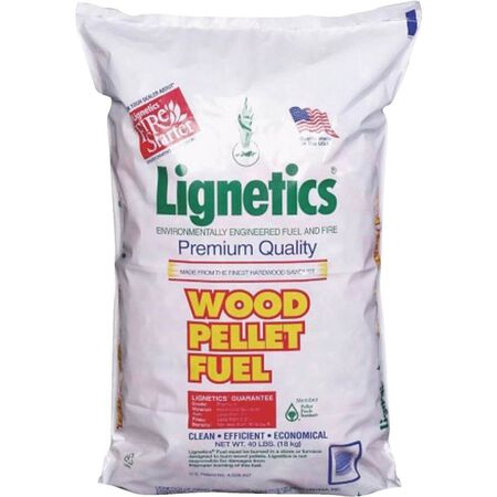 Lignetics Wood Pellet Fuel 40lb bag
