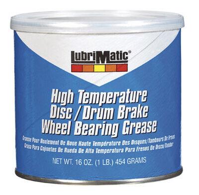 Lubrimatic Polyurea Trailer Wheel Bearing Grease 16 oz. Can
