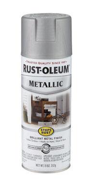 Rust-Oleum Stops Rust Nickel Matte Metallic Spray 11 oz.