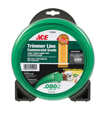 Ace Commercial Trimmer Line 0.080 in. Dia. x 280 ft. L 14 refill