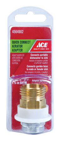 ACE Quick Connect Adapter 15/16 in. x 3/4in. GHTM