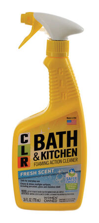 CLR Kitchen & Bathroom Cleaner 26 oz.