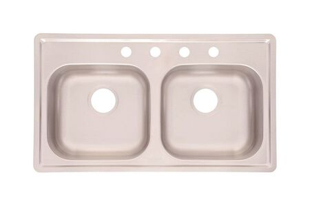 Kindred Satin Stainless Steel Top Mount 33 in. W x 19 in. L Kitchen Sink Stainless Steel