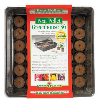 Plantation Products Greenhouse Peat Pellet Tray