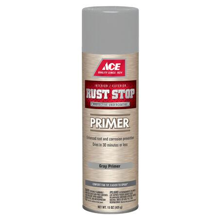 Ace Rust Stop Grey Primer 15 oz.