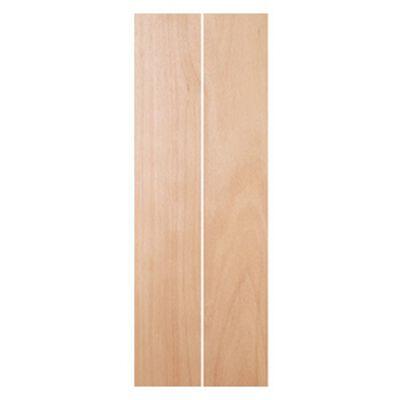 Mahogany Bifold Door - 24 in x 80 in