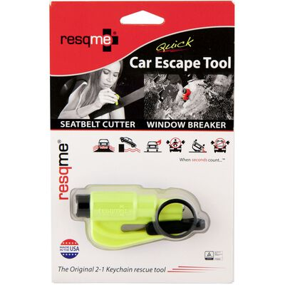 Resqme 1 pc. Keychain Rescue Tool