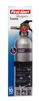 First Alert Designer 2-1/2 lb. US Coast Guard OSHA For Household Fire Extinguisher