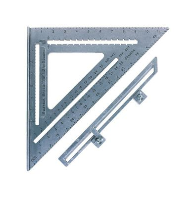 Swanson Aluminum Speed Square 12 in. L x 12 in. H