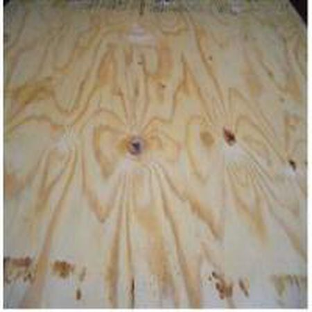 Plywood CDX Rated sheating 4' x 8' x 15/32""