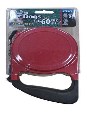 PDQ Plastic Dog Leash 26 ft. L