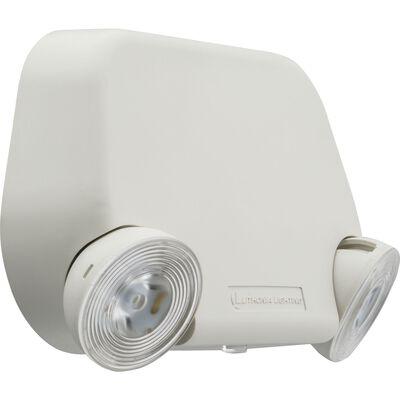 Lithonia Lighting Switch Hardwired LED White Emergency Light