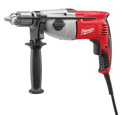 Milwaukee 1/2 in. Keyed Corded Hammer Drill Bare Tool 7.5 amps 2500 rpm