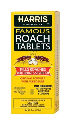 Harris Famous Solid Roach Killer 6 oz.