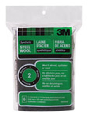 3M 2 in. W x 4 in. L Medium 2 Steel Wool