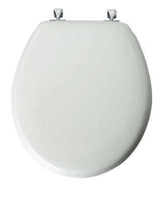 Mayfair Wood Toilet Seat Round White