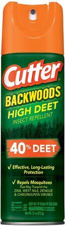 Cutter HG-96647 Backwoods High DEET Insect Repellent, 7.5 oz, Aerosol
