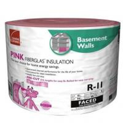 Owens Corning Insulation R-11 15 in. W Roll 88 sq. ft. Energy Star Compliant