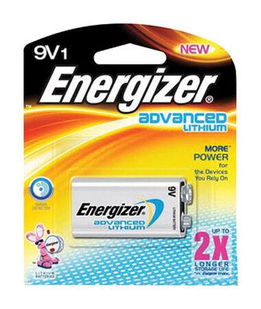 Energizer Advanced 9V Lithium Batteries 1 pk