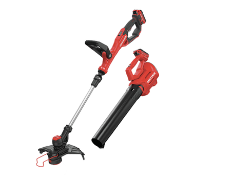 Craftsman Weedwacker 13 in. 20 volt Battery Trimmer and Blower Combo Kit Kit (Battery & Charger)