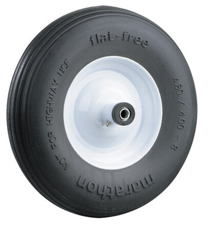 Marathon Wheelbarrow Tire 15.5 in. Dia. 500 lb.