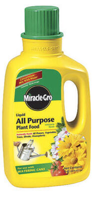Miracle-Gro All Purpose Plant Food For Flowers Vegetables 32 oz.