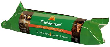 Pine Mountain Fire Log 3 hr. - SOLD BY THE LOG