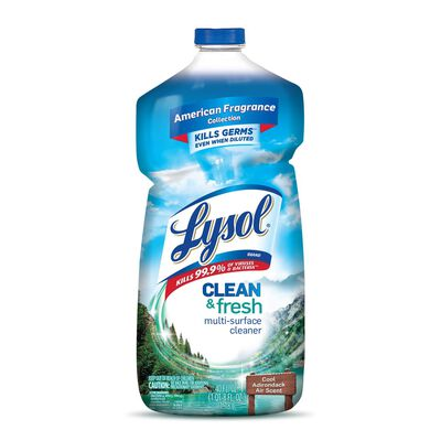 Lysol Clean and Fresh 40 oz. Cool Adirondack Air Scent Multi-Surface Cleaner