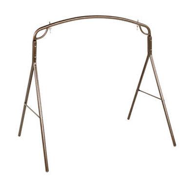Jack-Post Woodlawn Swing Frame Bronze 500 lb. 71-1/4 in. D x 66-3/4 in. H x 48 in. W