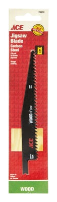 Ace Carbon Steel Universal 6 in. L Jig Saw Blade 6 TPI