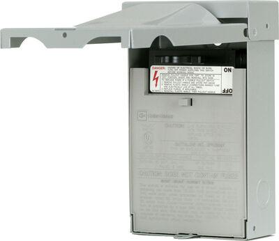 Eaton Non-Fusible/Double Pole 60 amps AC Disconnect