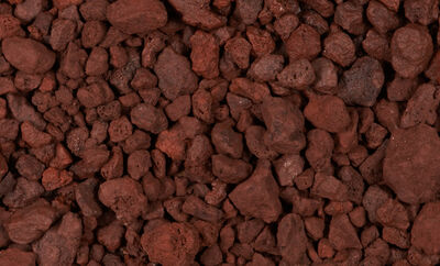 Rock Volcanic Red .5 cu ft