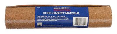 Shop Craft Cork Gasket Material 12 in. x 36 in. x 1/8 in.